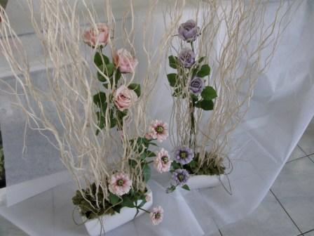Composizione fiori artificiali fiori piante fiorista for Libri per fioristi